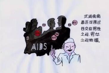 hiv的选择性传播